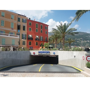 Parking Vieille Ville - Sablettes (Menton)